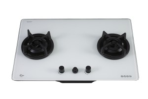 TURBO INCANTO 76CM 2 BURNERS T7629G OPTIC WHITE COLOUR GLASS HOB