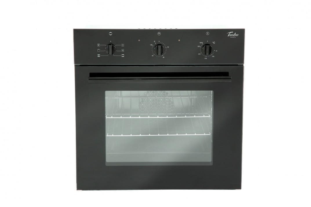 TURBO INCANTO 5 FUNCTIONS TFX6605BK BLACK COLOUR MULTI-FUNCTION OVEN
